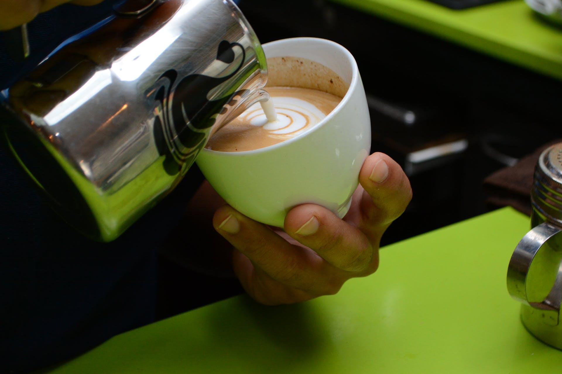 art latte art coffee