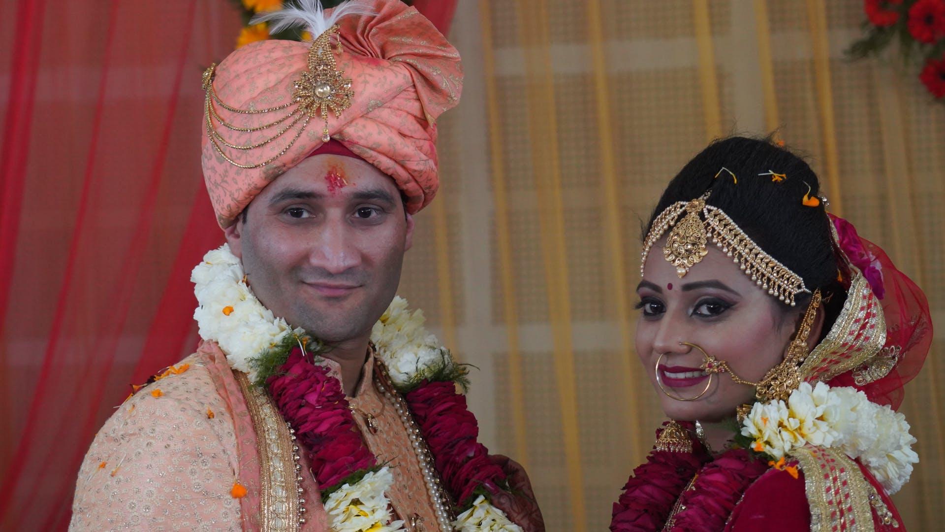 bride and groom varmala marriage bride wedding