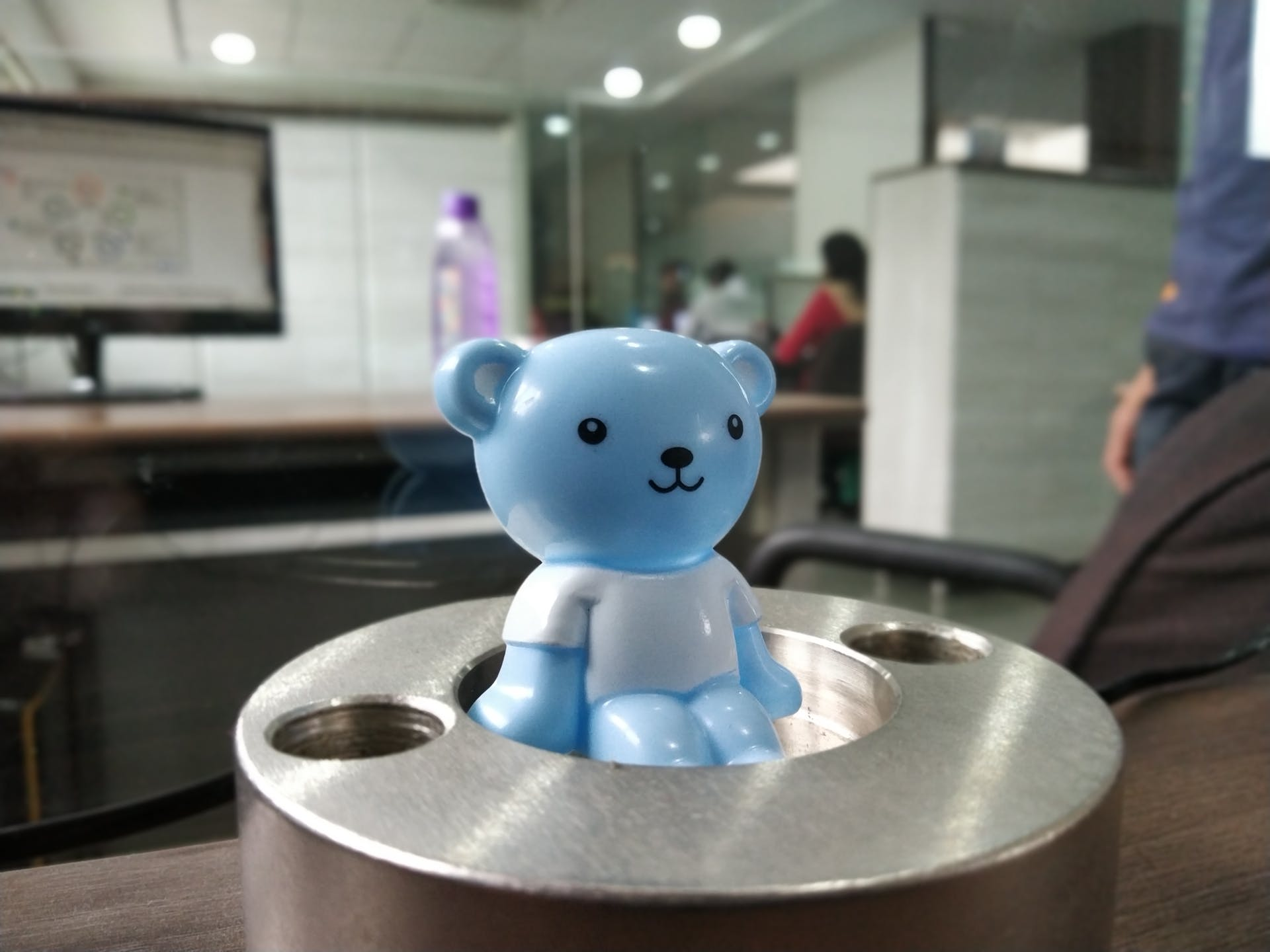 hd wallpaper pexels cartoon character office baby blue toy cute cool cool light