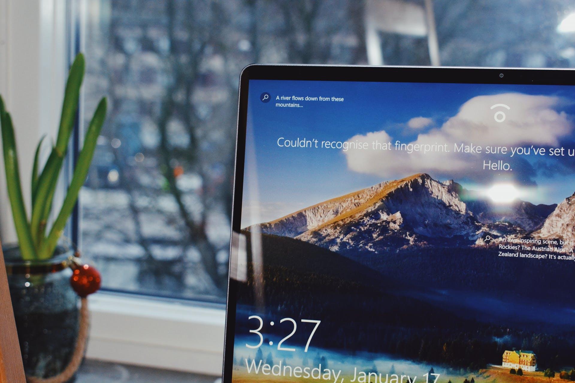 screen windows 10 windows operating system technology tech lock screen laptop