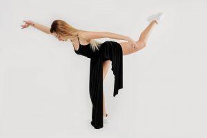 active girl gymnastics modern body dancer female activity gymnast fitness