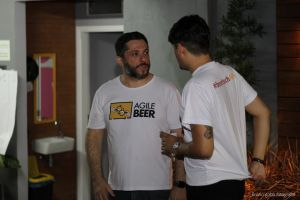 agile beer pizza castelo creative space talk brazil food meetup lecture education beer