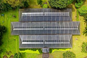 alternative high angle shot grid roof drone cam solar aerial grass design architecture