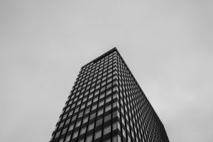 architect tallest exterior skyline skyscraper architecture black-and-white travel destination steel travelling