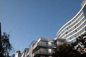 architecture curve modern building