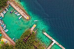 architecture vacation summer ocean recreation daylight swimming pool desktop turquoise leisure