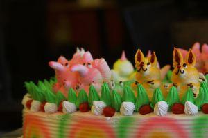 b'day cake food birthday cake cake celebration wedding cake colors cherry cream