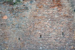 background construction rough cracked destroyed grunge brick texture texture stained wall
