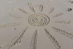 beach picture sand sun