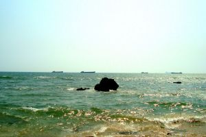 beach sailing ships beach stones