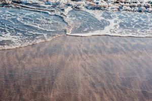 beach tide pink sand sea ocean ocean shore