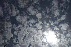 beautiful clouds background texture