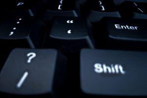 "black and white question mark keyboard keyboards computer keyboard enter shift electronic keyboard "" computer wallpaper"