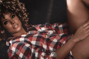 black model curly hair beautiful girls beautiful