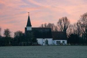 blue anglican church sky sunrise church northolt