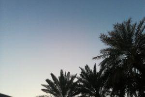 blue sky clear sky 4k wallpaper dark sky