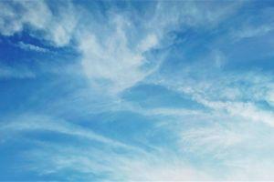 blue sky cloudy sky sky