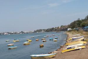 boats daytime madhya pradesh bhopal wallpaper india
