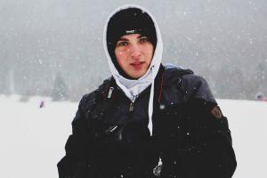 boy photography winter slovakia