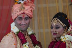 bride and groom varmala marriage bride wedding