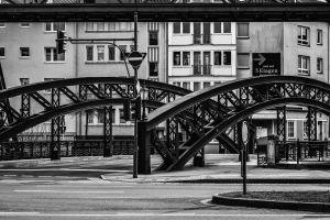 bridge architecture urban photography monochrome photography