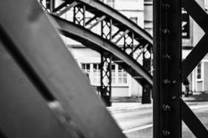bridge monochrome photography urban photography