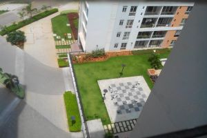 building chess apartment top view apartment building chess board green