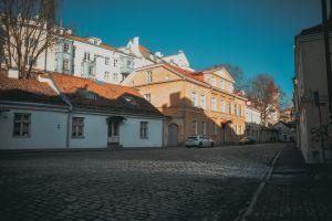 buildings old town love sky people vintage