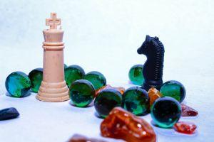 chess piece create photo stones