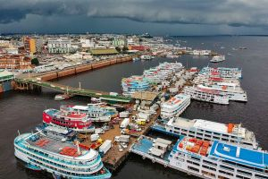 city harbor boat