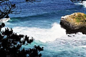 cliff cliff coast coast nature photography holiday waves water pacific usa wave crashing