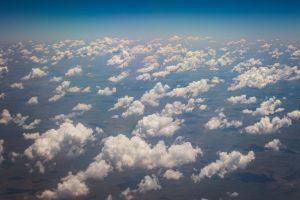 clouds aerial view blue sky aerial shot sky grow