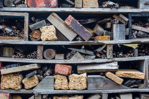concrete wood background building shelves construction material texture