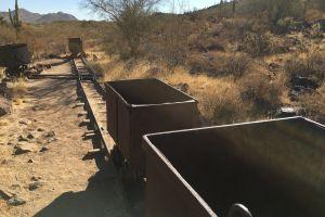 desert railroad train sand
