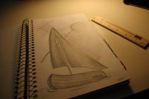 drawing design pencil sketch dim light