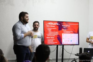 education brazil lecture pizza talk food agile beer meetup castelo creative space beer