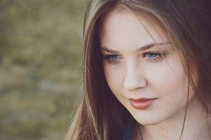 eyes eye winter beauty portrait blue beautiful girl woman
