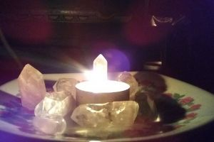fire night healing crystals