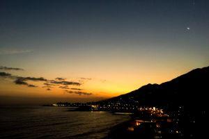 first light sunset beach sunset by the sea sunrise
