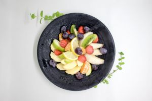 food bowl of fruit fruits fresh fruits mixed fruits healthy eating healthy fresh fruit