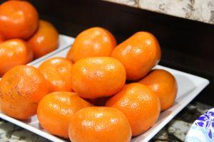 fresh fruits oranges tray orange kitchen trey fruit