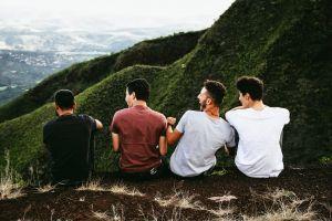friendship friends mountain people