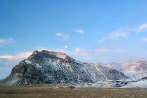 frozen cold mountain