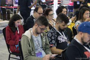 gamer tech camp congress leecture keyboard creative meetup design camping