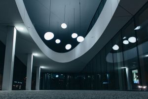 glass wall ceiling lamp ceiling lights modern architecture low angle shot low angle photography urban building reflective