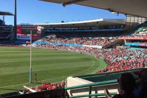 green australia olympic stadium grass sport stadium swans famous red game