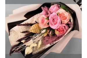 hand flowers art flower background birthday handmade bouquet crafting