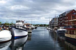 harbor ocean boat