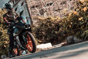 helmet ride love street motorcycle ktm passion rc390