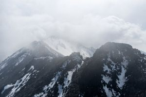 high frozen daytime cold nature wallpaper landscape foggy frost freezing glacier
